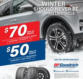 Autumn Promotion 2017 BF-Goodrich