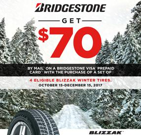 Bridgestone Autumn Promotion 2017