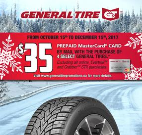 General Tire Autumn Promotion 2017