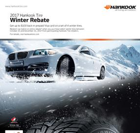 2017 Hankook Tire Autumn Rebate Program